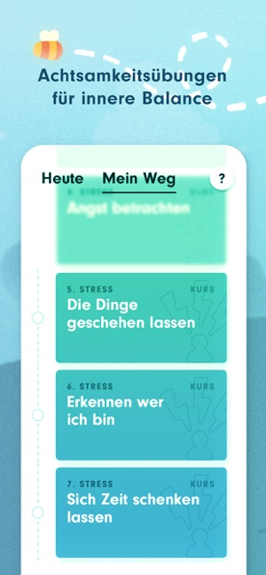 ‎7Mind Meditation & Achtsamkeit Screenshot