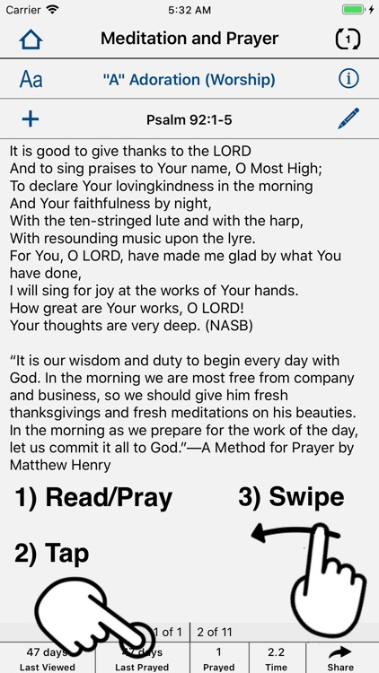 Christian Prayer Prompter screenshot-5