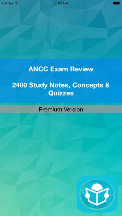 ANCC Exam Review & Study Guide
