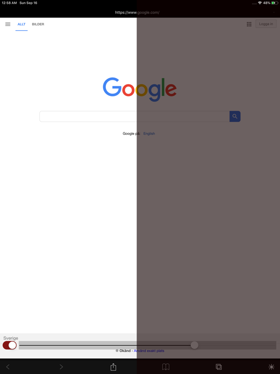 Night Web Browser by Alex Screenshots