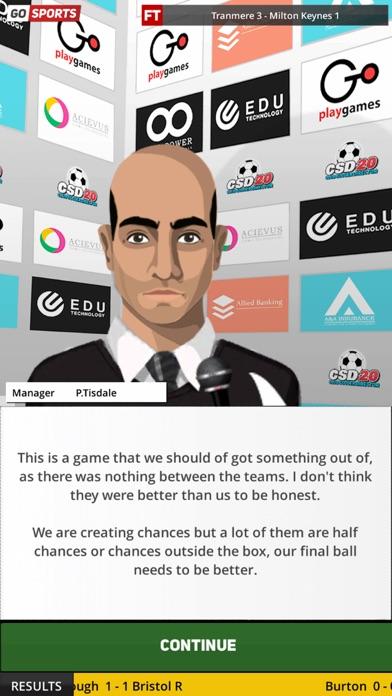 Club Soccer Director 2020 screenshot #9