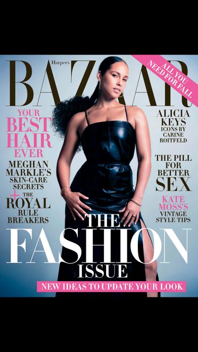 Harper's BAZAAR Magazine US Screenshot