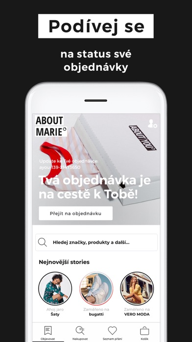 Screenshot for ABOUT YOU Mode Online Shop in Czech Republic App Store