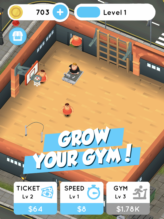 Fit the Fat: Idle Gym screenshot 5
