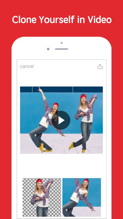 Erase&Change Video Background