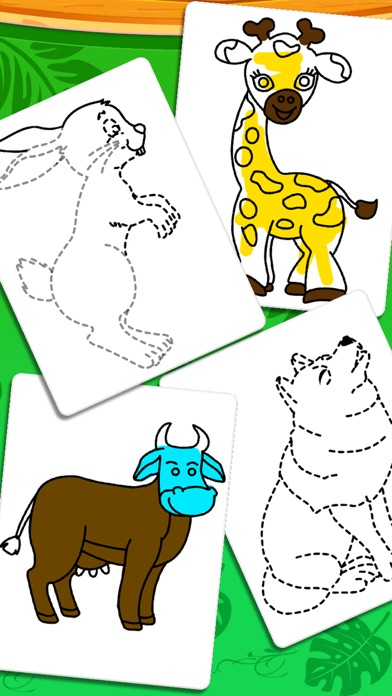 Coloring And Drawing Animals screenshot 2