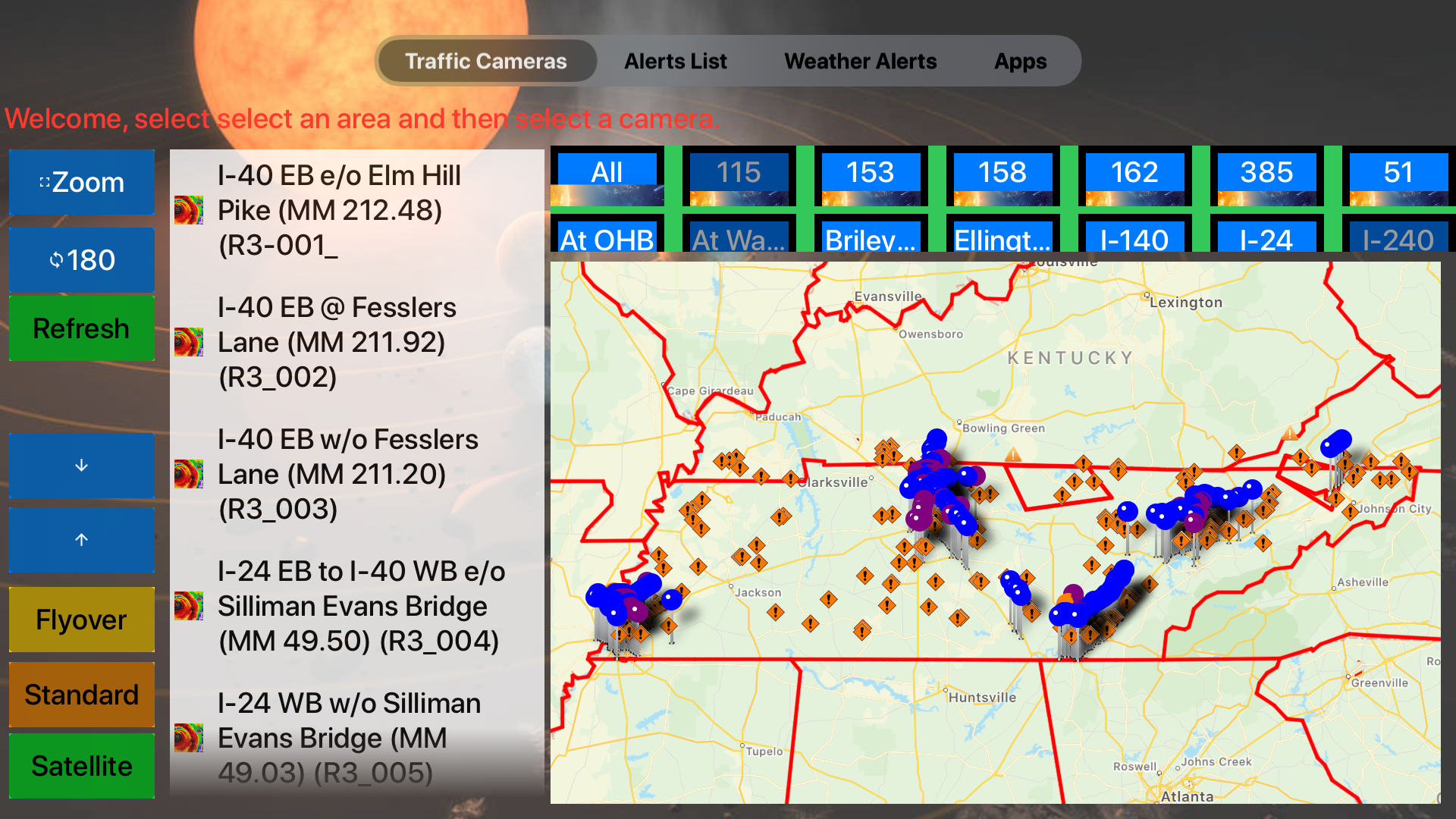 Traffic Cameras Tennessee Pro screenshot 18