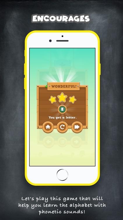 ABC Alphabet Game - English screenshot-4