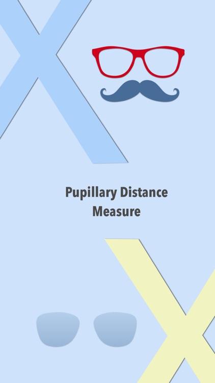 Pupillary Distance Measure X