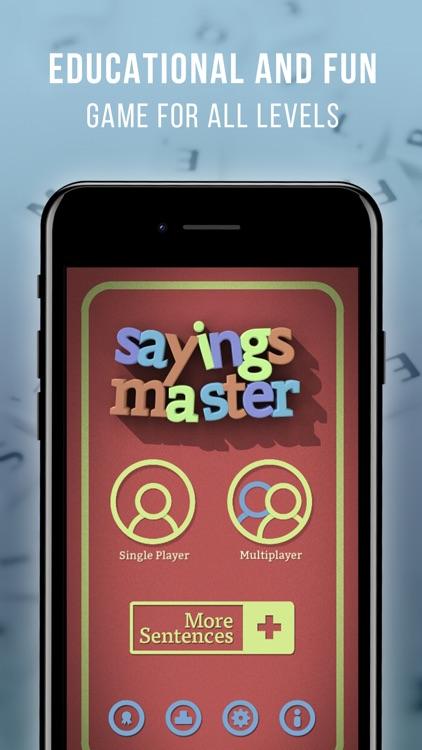 Proverbs & Sayings Master screenshot-0