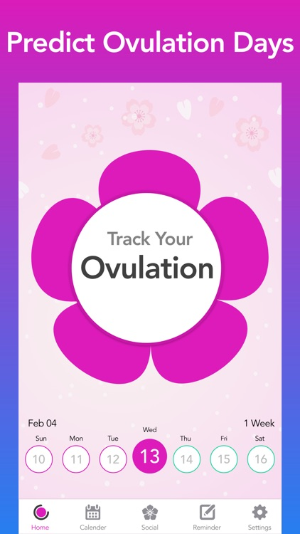 Period Tracker : Ovulation App
