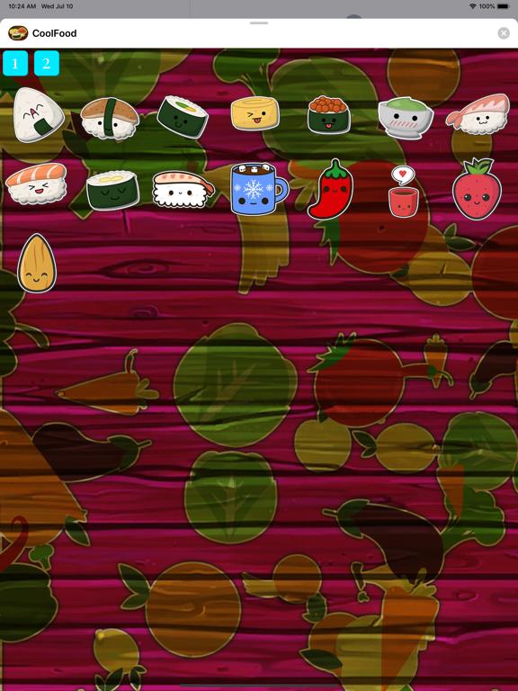 CoolFood Sticker screenshot 7