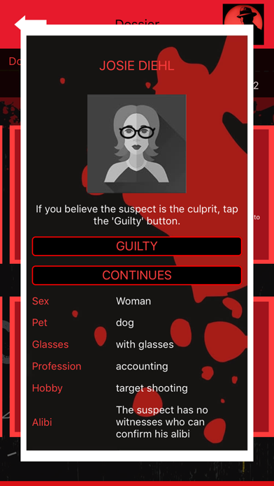 Crime Scene Detective CrimeBot screenshot 2