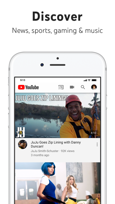 Screenshot for YouTube: Watch, Listen, Stream in Jordan App Store