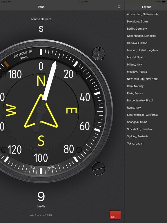 Screenshot #6 pour Anémomètre - Vitesse du vent