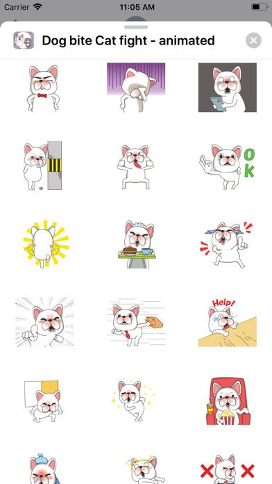Dog bite Cat fight - animated screenshot 5