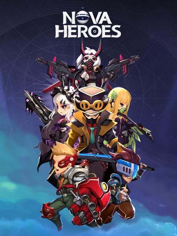 Ipad Screen Shot Nova Heroes 4