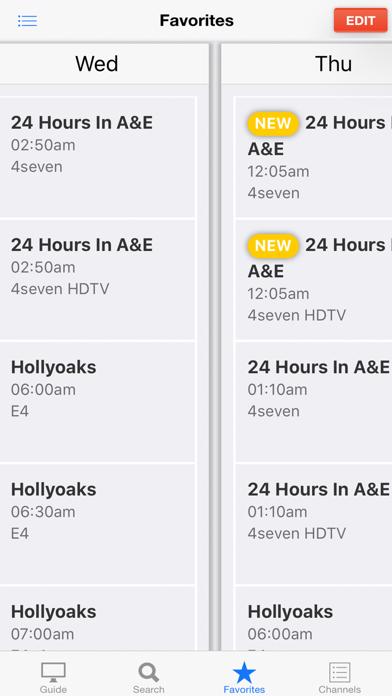 TV Guide UK screenshot three