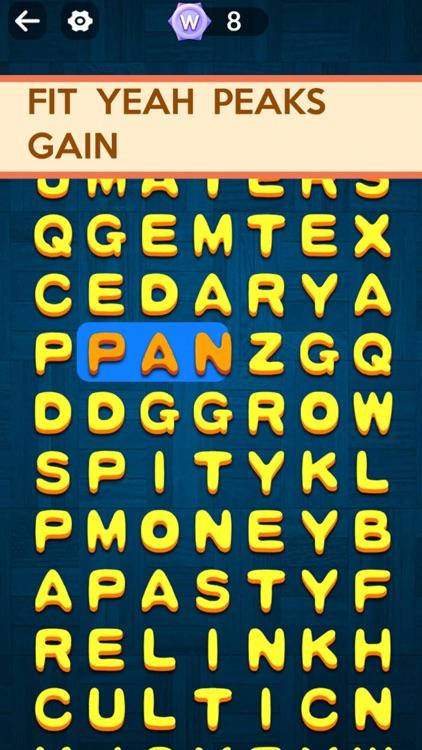 Word Slide - Crossword Puzzles screenshot-4
