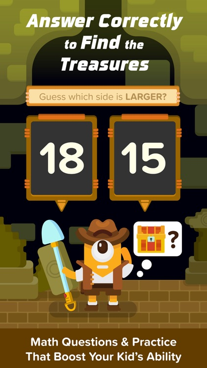Treasure Adventure: Numeracy