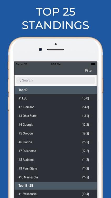 Memphis Football Schedules screenshot-5