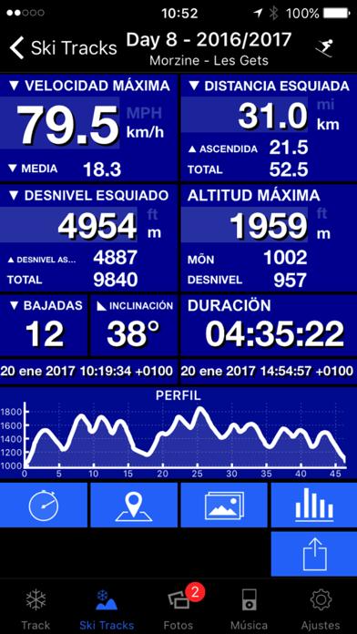 Descargar Ski Tracks para Android