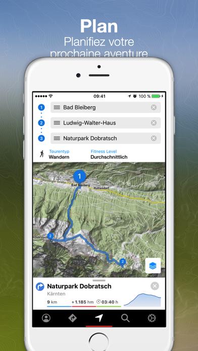 Screenshot #3 pour Tours Bergfex et suivi GPS