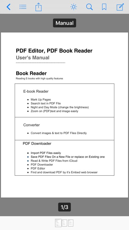PDF Editor ,PDF Book Reader screenshot-1