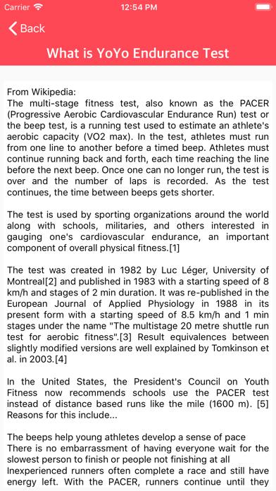 YO YO Endurance Testのおすすめ画像6