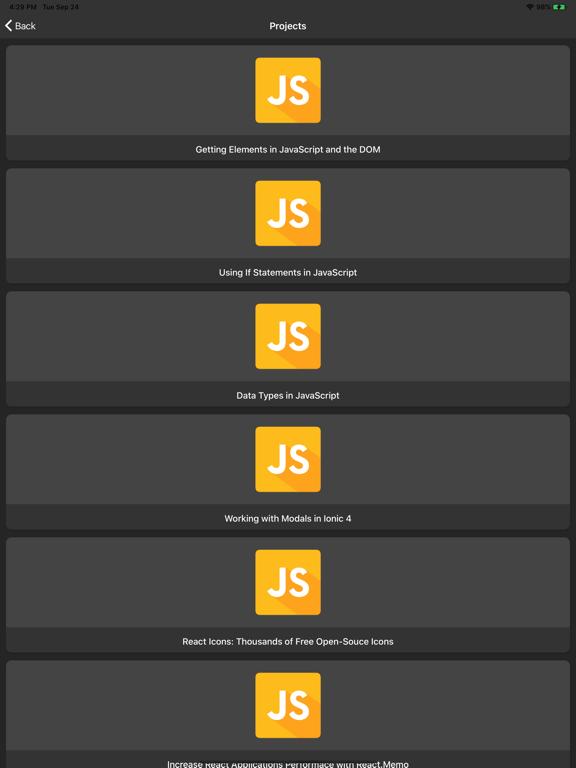 Learn Javascript Programming screenshot 11