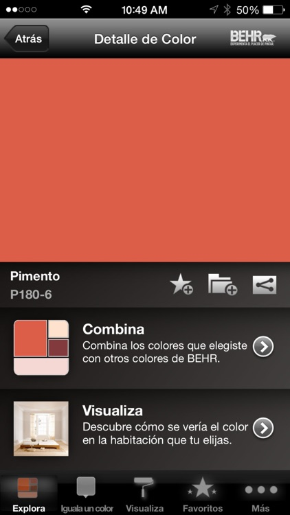 ColorSmart by BEHR® Mexico screenshot-3