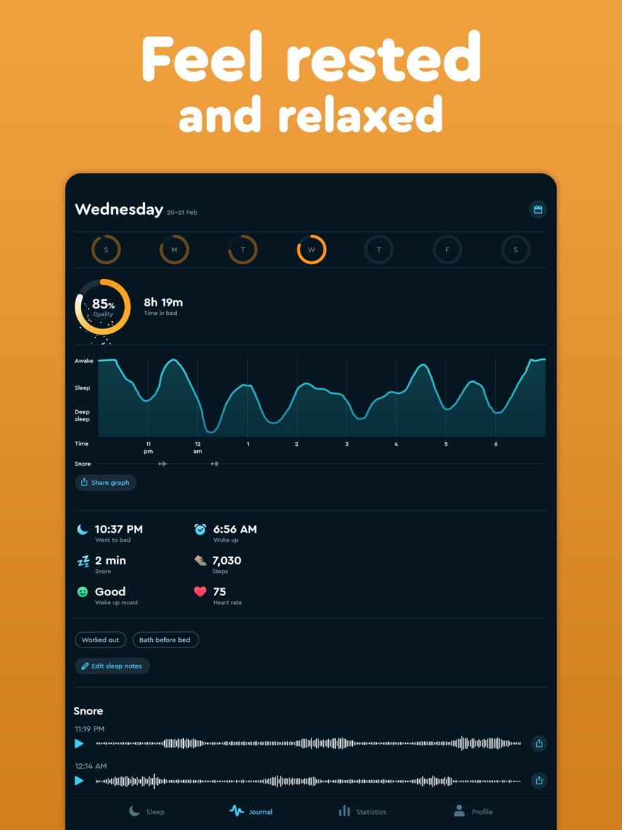 Sleep Cycle: 智能闹钟-3
