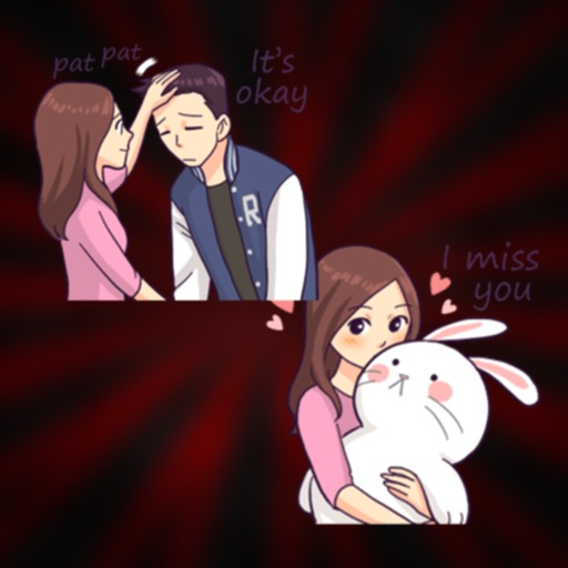 You & I : Daily Talk Stickers