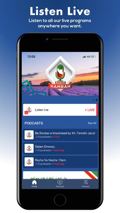 Screenshot #1 pour Radio Hamrah