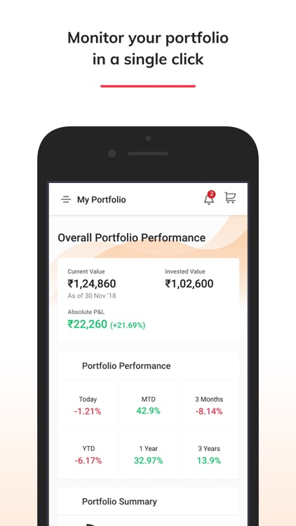 moneyguru: Mutual Fund App screenshot-3