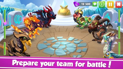 Screenshot from Dragon Mania Legends - Fantasy