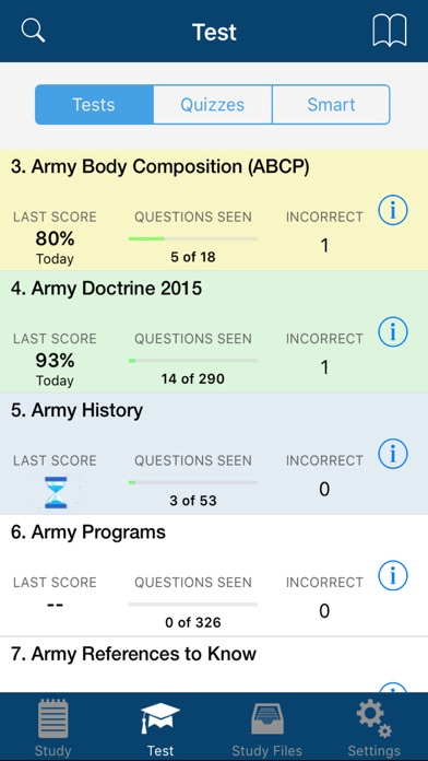 Screenshot for PROmote - Army Study Guide in United States App Store
