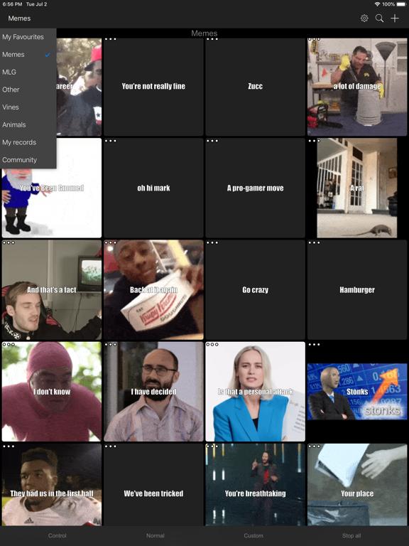 Meme Soundboard 2016-2019 - Revenue & Download estimates - Apple App