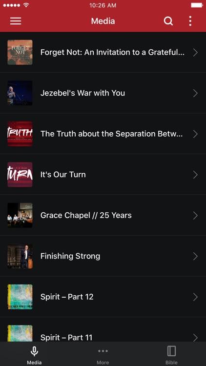 Grace Chapel App