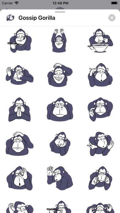 Gossip Gorilla screenshot 2