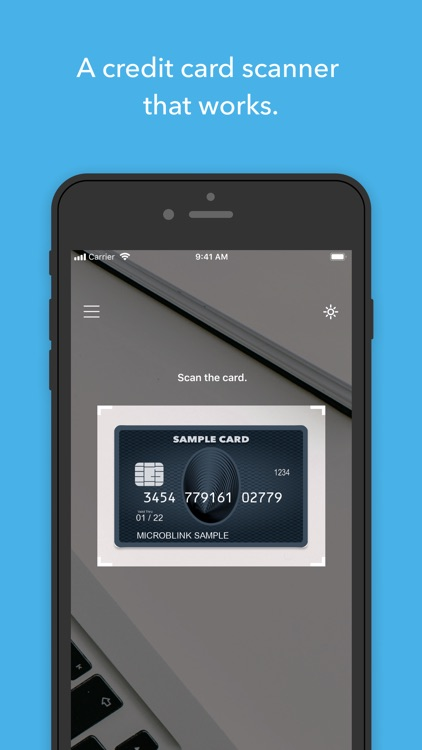 BlinkCard - Scan Credit Cards