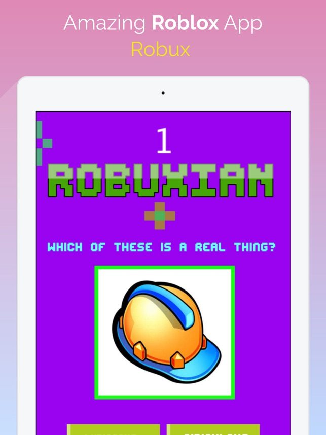Infinity Robux Free Robux App That Works Robux For Roblox 2020 On The App Store