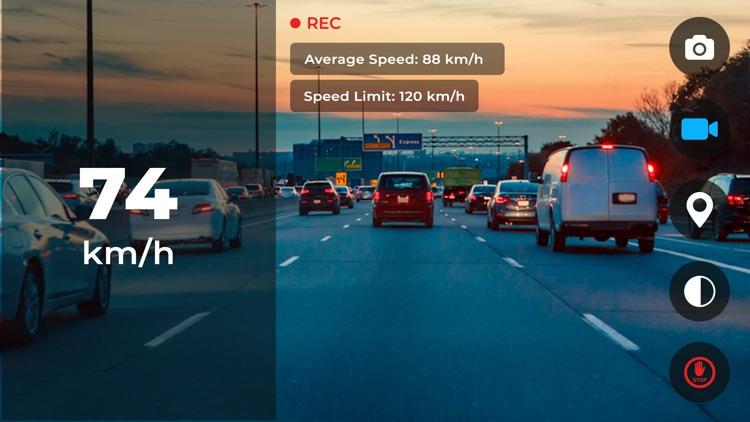GPS Speedometer: Car Dash cam