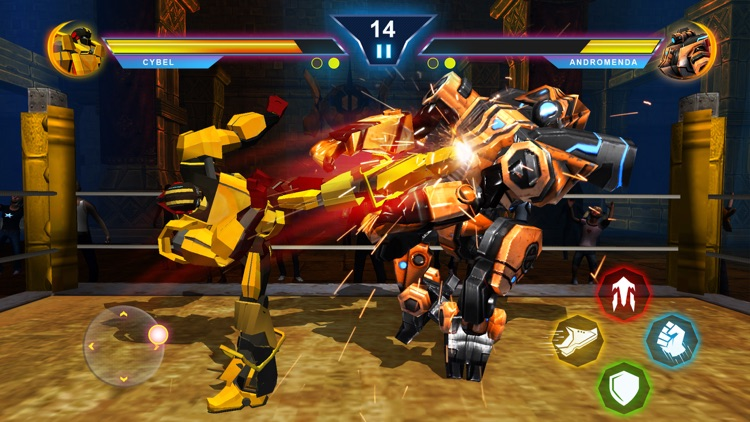 Real Robot Fighting Games 3D