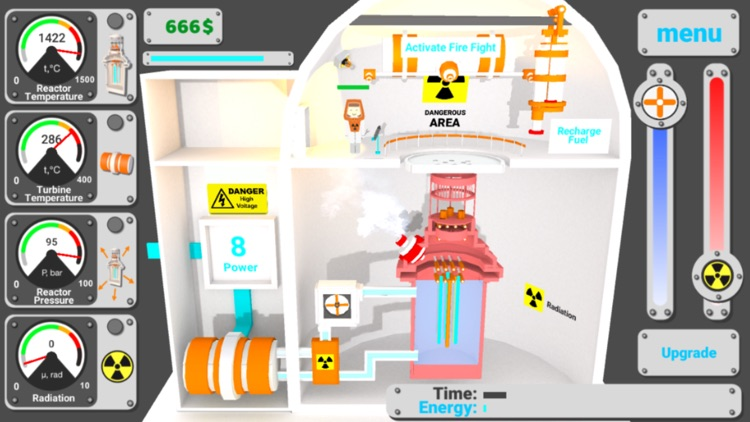 Nuclear inc 2. Atom simulator screenshot-0