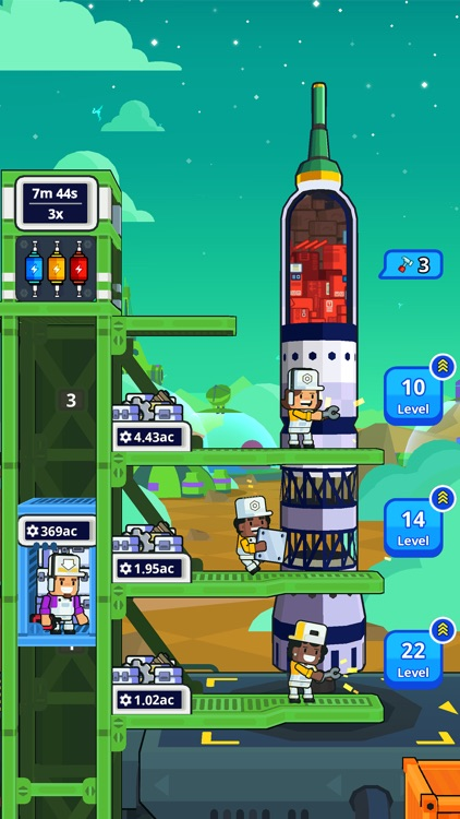 Rocket Star: Idle Tycoon Game screenshot-5