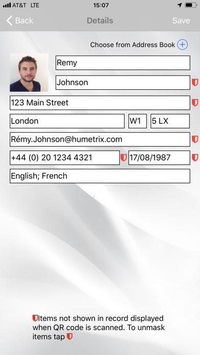 SOS QR Screenshots
