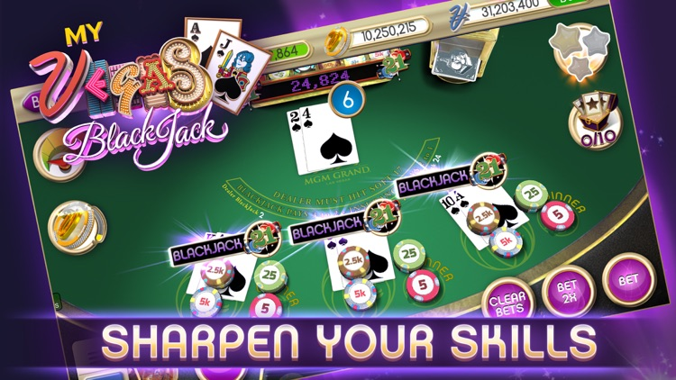 myVEGAS Blackjack – Casino screenshot-0