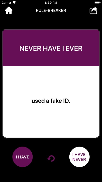 Never Have I Ever ...