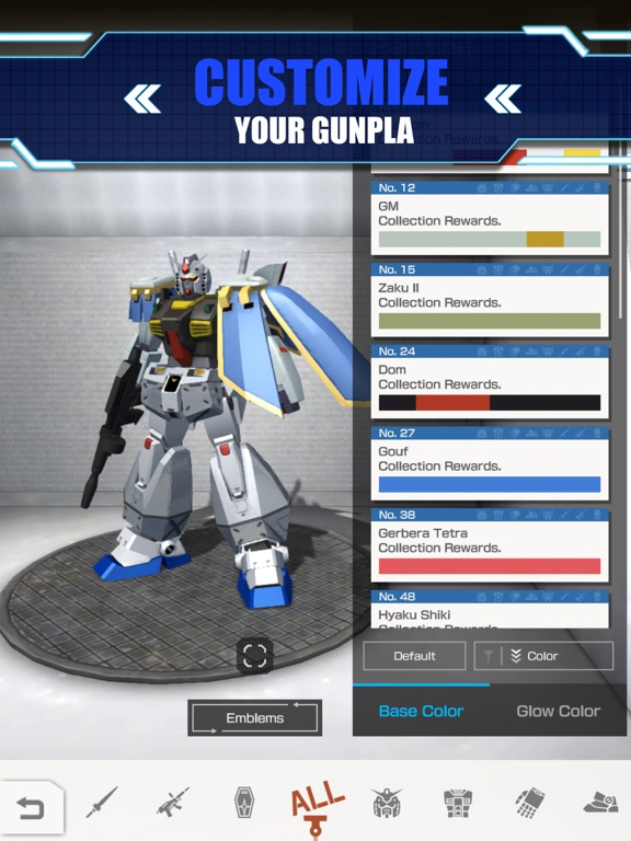 GUNDAM BATTLE: GUNPLA WARFARE screenshot 8